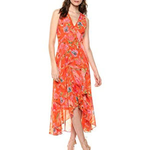 Calvin Klein Chiffon Maxi Dress
